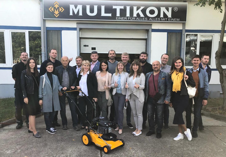 Besuch russischer Unternehmer bei Multikon