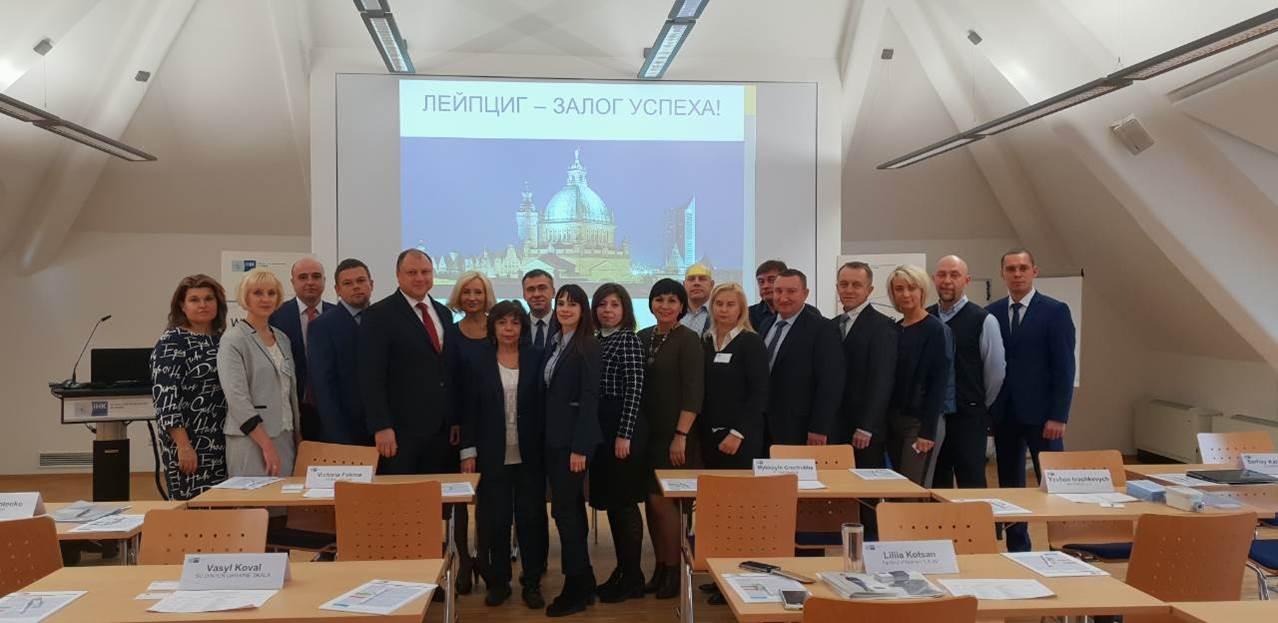 Ukrainische Unternehmen besuchen Sachsen