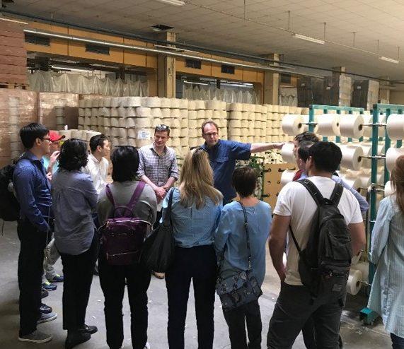 Führungskräfte aus Kasachstan im Frühjahr 2018 auf Fortbildung und Kontaktanbahnung in Sachsen