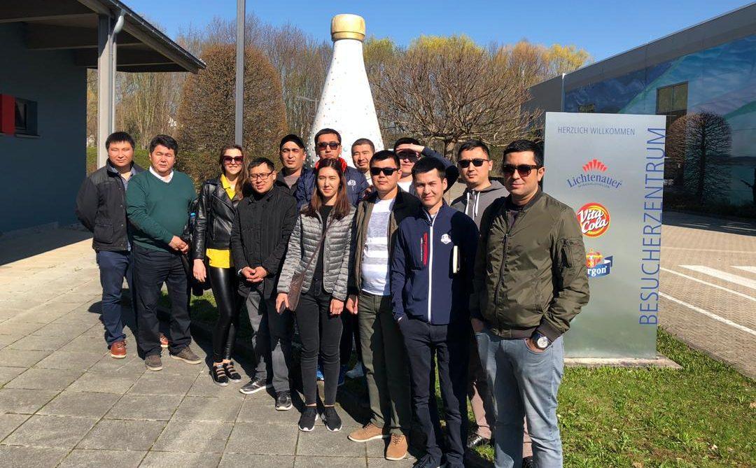Führungskräfte aus Zentralasien: Kasachstan, Kirgisistan und Usbekistan im Frühjahr 2019 in Sachsen