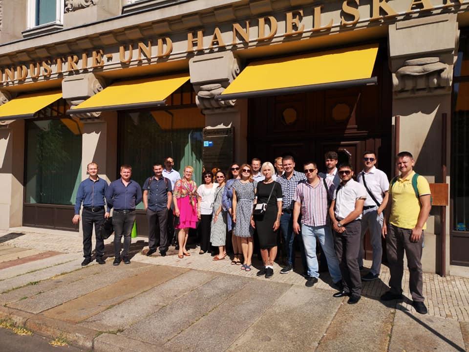 Managerfortbildungsprogramm mit der Ukraine, IHK Leipzig