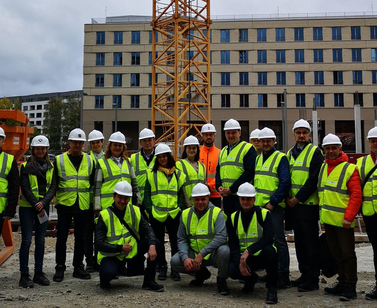 Russische Bauunternehmer in Dresden